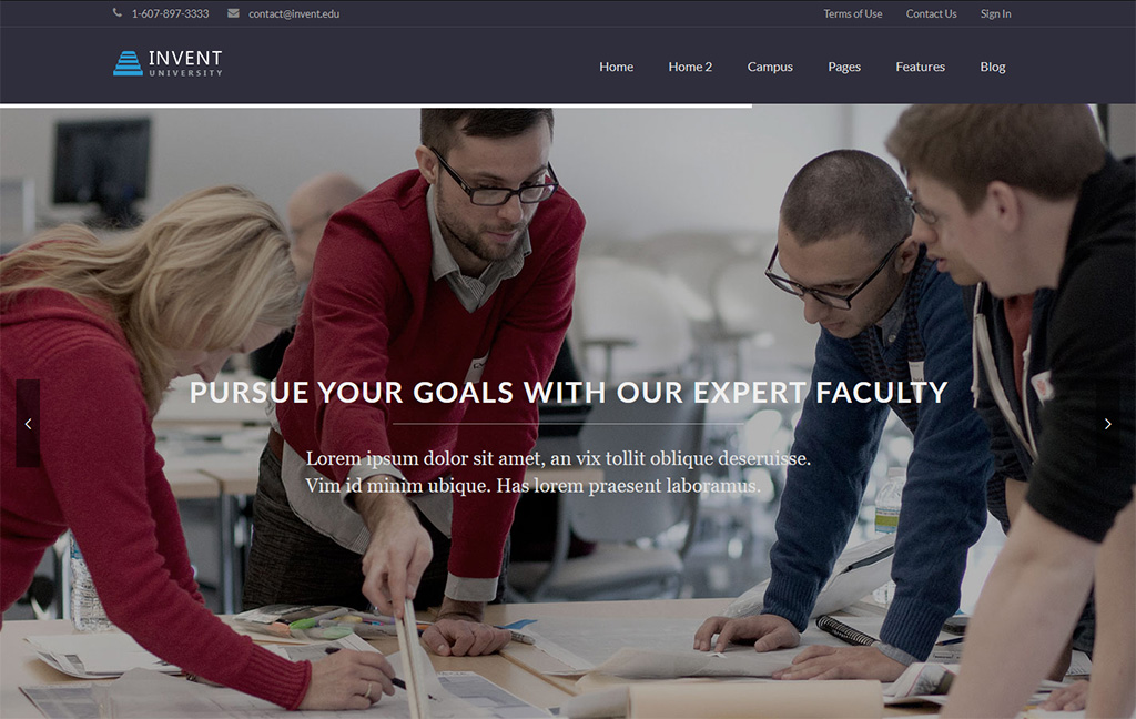 Invent LearnDash WordPress Theme