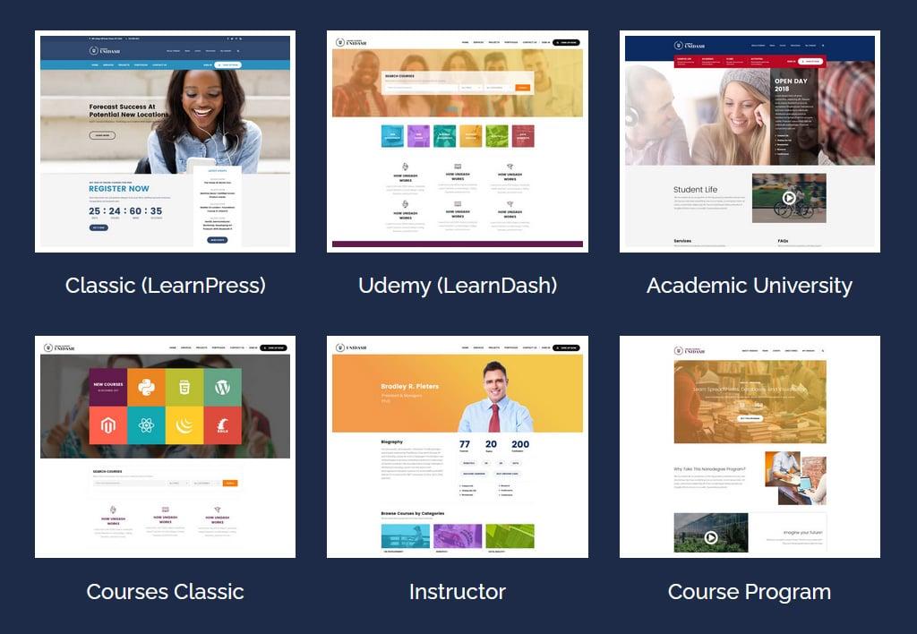 Unidash LearnDash WordPress Theme