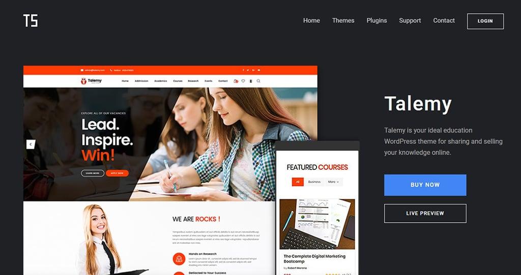 Talemy LearnDash WordPress Theme