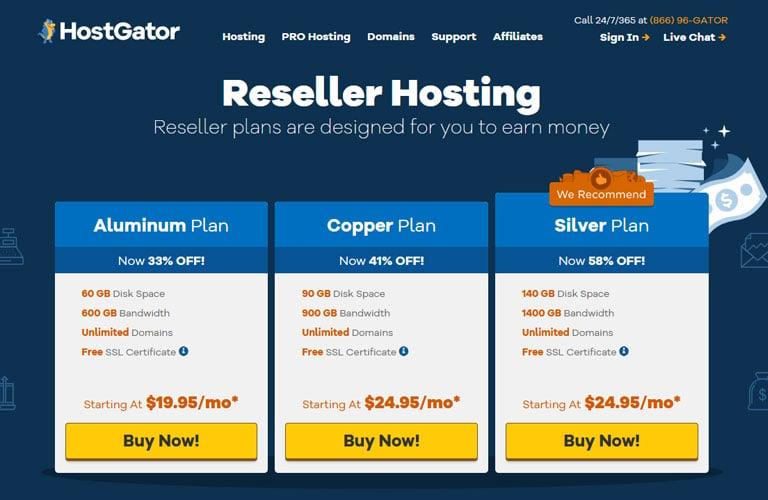 HostGator Reseller Hosting Review