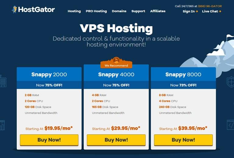 HostGator VPS Hosting Review