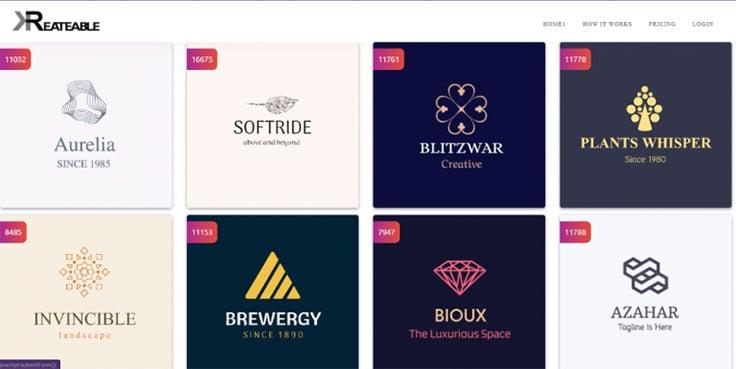 Kreateable Logo Maker