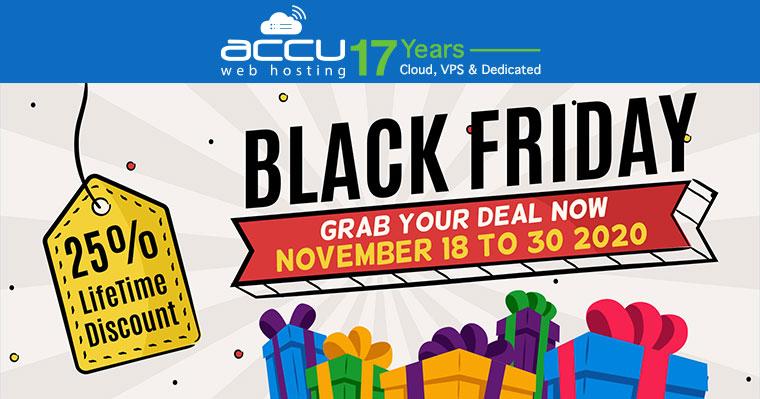 Accu Webhosting Black Friday Deal