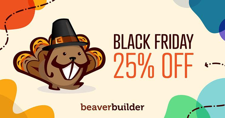 Beaver Builder Black Friday Deal 2020
