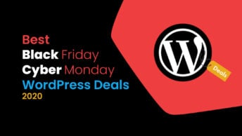 Best Black Friday and Cyber Monday WordPress Deals 2020