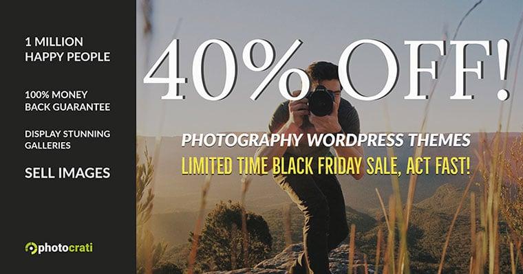 Photocrati Black Friday Deal 2020