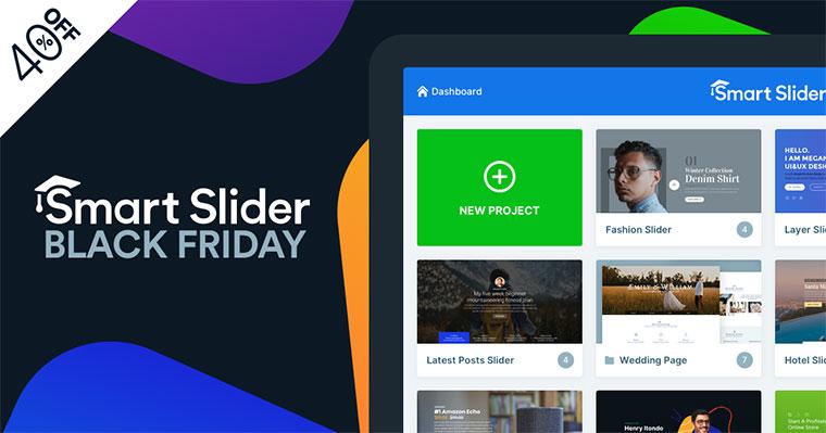 Smart Slider 3 Black Friday Deal 2020