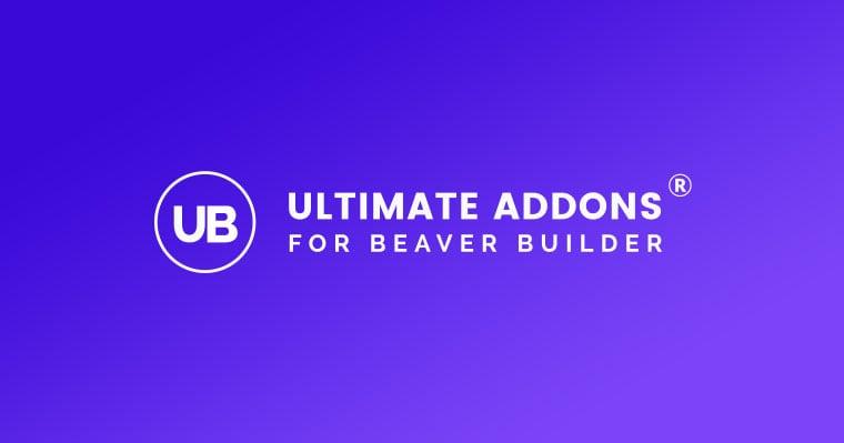 Ultimate Addons for Beaver Builder Black Friday Deal 2020