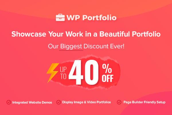 WP Portfolio BFCM Deal