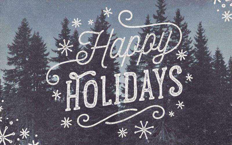 Christmas Holiday Photo Overlays
