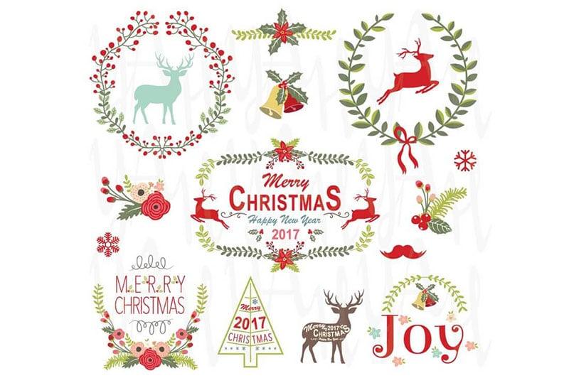 Christmas Wreath & Frame Collection
