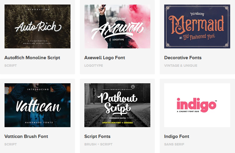 Comin Fonts on Envato