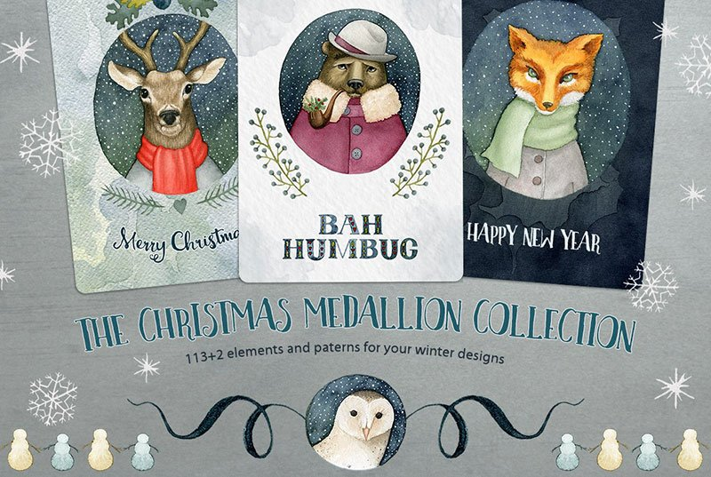 The Christmas Medallion Collection