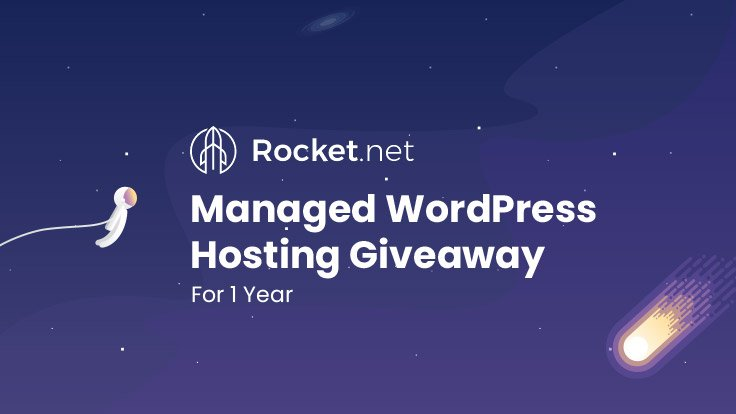 Rocket.net Manage WordPress Hosting Giveaway