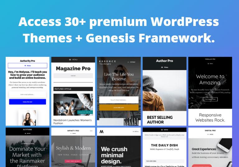 StudioPress Premium WordPress Theme
